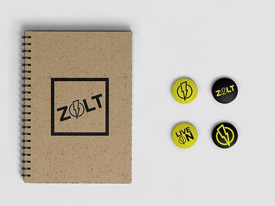 Zolt Branding photoshop buttons stationary logo artwork logo design swag brand identity branding design branding