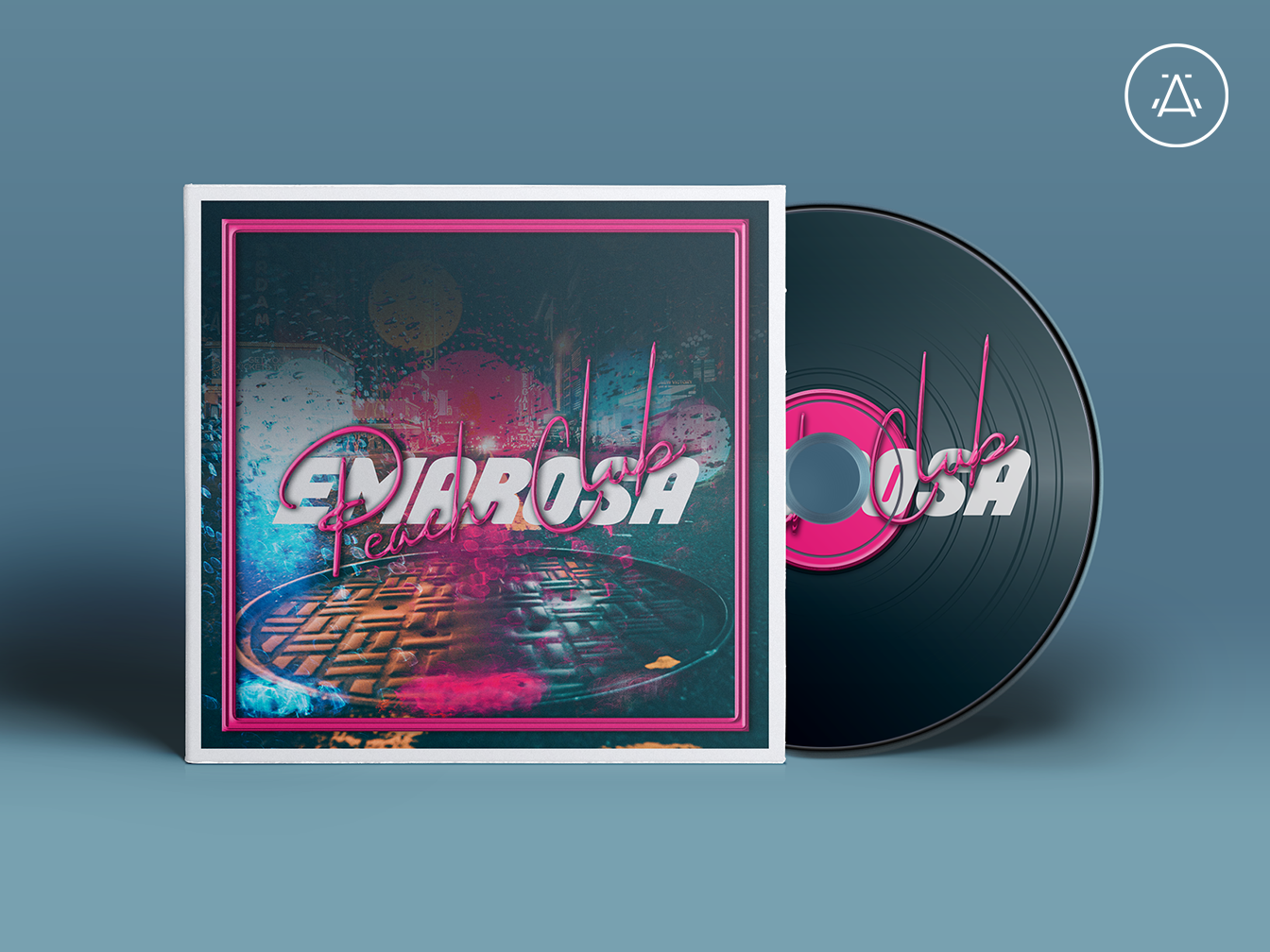 Emarosa Peach Club Album Artwork branding concept music art music album band design cd artwork album art band music music artwork vinyl art music album artwork branding emarosa