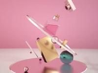 Perfume Endless Animation