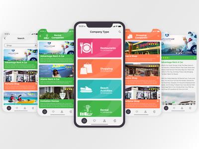UserApp (Light). Mobile Design