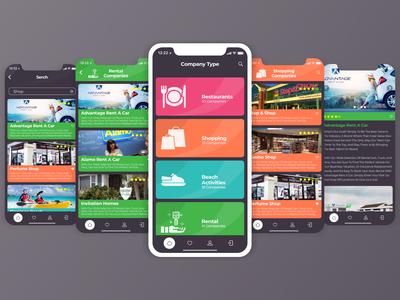 UserApp (Dark). Mobile Design