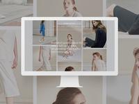 Shopping Brand Site Concept Romanticize