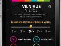 Vilniaus Vietos - old iOS application