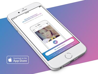 FaceFacts iPhone App face iphone app gender prediction male female selfie detection algorithm