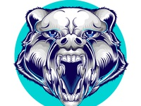 head of wolf logo