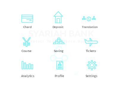 Syariah Bank Icon