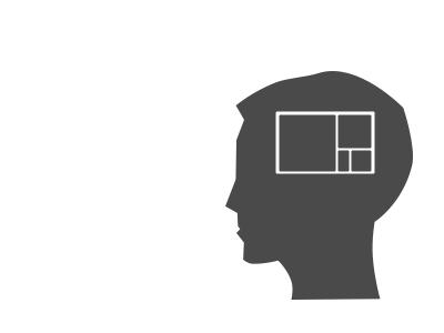 Design Psychology Icon/Illustration