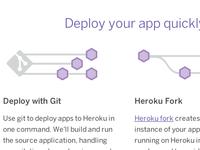 Heroku Git Deploy and Fork