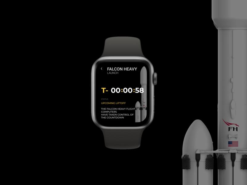 DailyUI#14 Countdown Timer | Apple Watch