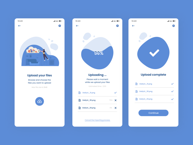 DailyUI#31 File Upload