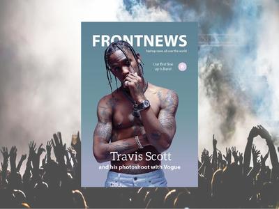 Travis Scott Fictional Magazine