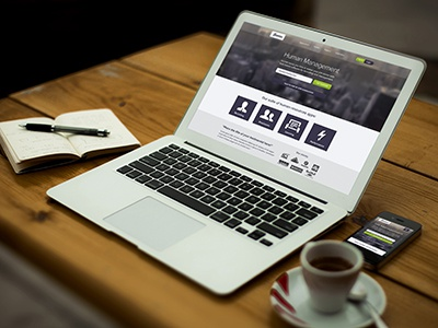 Human Web Design web design landing page website