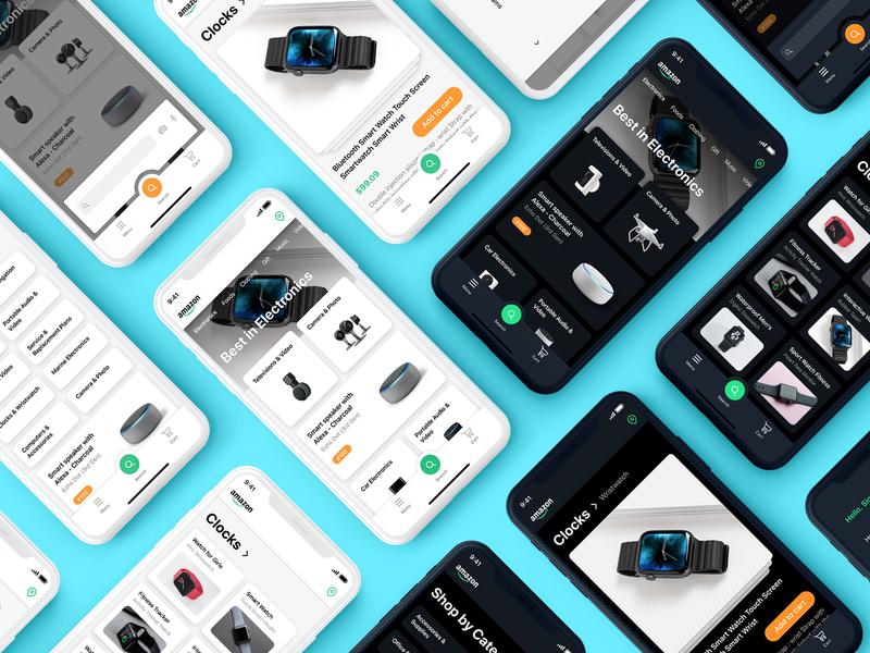 Amazon App Redesign & UI Concept