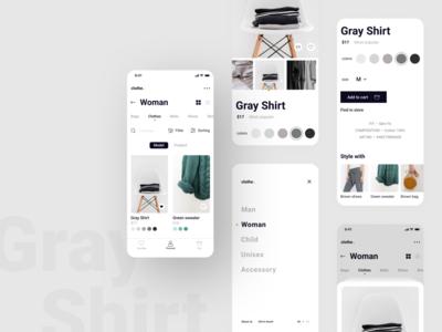 Online store - clothe