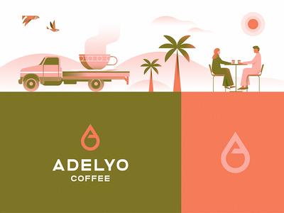 Adelyo design symbols colors branding illustration identity mark logo symbol