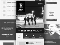 WIP Band Mobile Site