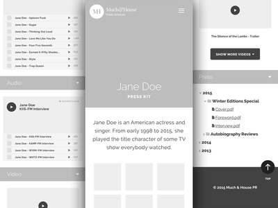 Wireframing: Mobile web design mobile wireframe ui illustrator responsive clean layout flat minimal