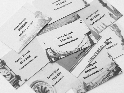 Emergency business cards home made business card designer brighton photography vintage