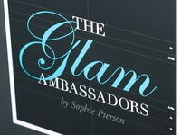 """The Glam Ambassadors"" logo"