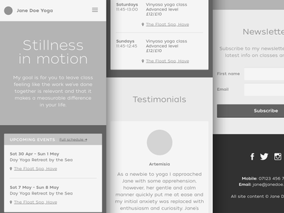 Mobile site wireframe wordpress bootstrap sketch layout xs mobile ui wireframe website responsive