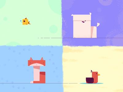 Square Animals