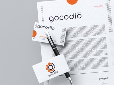 GoCodio Logo Design