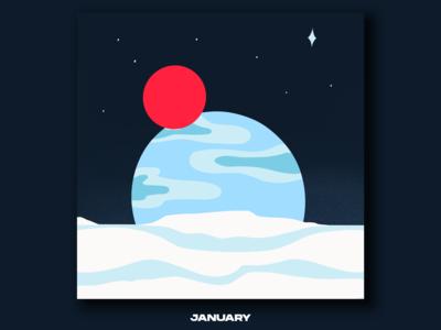 Illustration for January