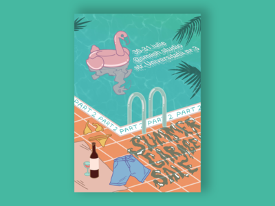 Summer Poster for Garage Sale