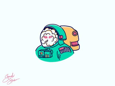Astronaut Illustration