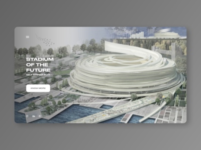 Stadium landing page