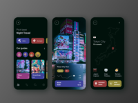 Night Travel Mobile App