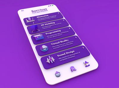 Multi service App 3D