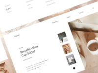 Elegram blue dashboard web ux design ui mobile minimal flat app