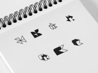 RK logo monogram