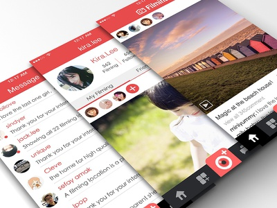 interface design in ios7 phone photographic camera ios7 ui interface design