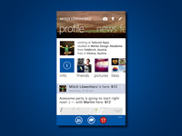 Redesign Facebook on WindowsPhone8