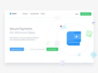 PAYIO | Payment Landing Page