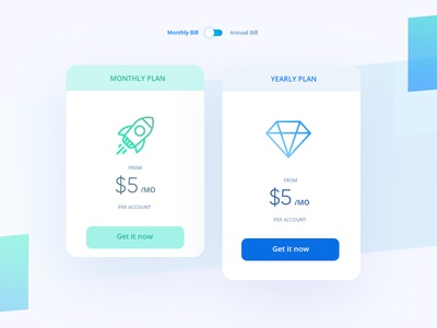 Pricing Cards
