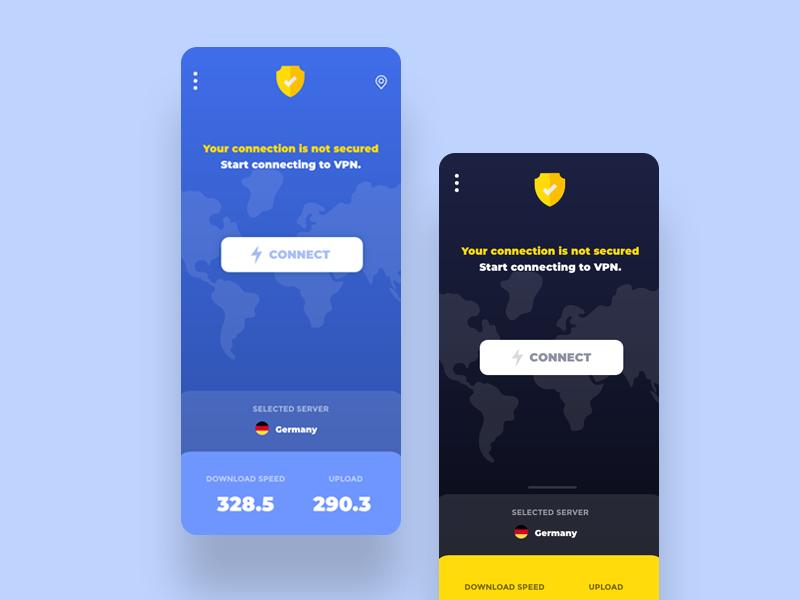 VPN App Concept by Laila Durazi on Dribbble
