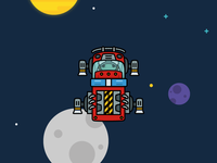 Fire Truck Space Ship