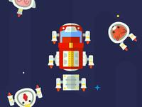 Space Fire Truck
