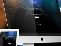 Orbital - Responsive Timer Coming Soon Template