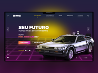 Dribbble Delorean