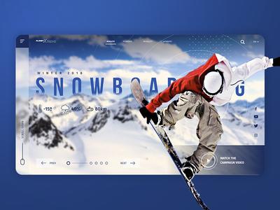 Snowboarding interface