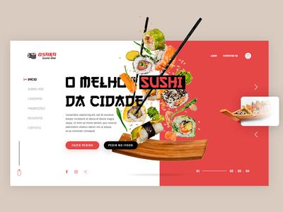 Oriental Food Interface