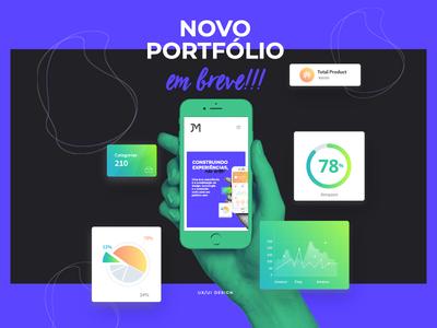 New website personal portfolio