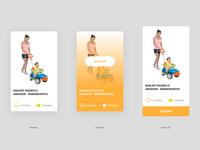 Cards for E-commerce Kids ecommerce shop newsite website figmadesign figma webdesign ui ux uidesign uxdesign design interface