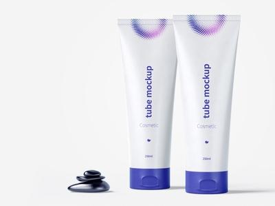 Cosmetic tube mockup 03