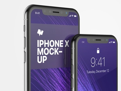 iphone x mockup 05 poster by original mockups