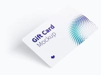 Gift Card Mockup 01